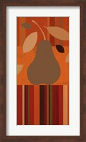 Framed Merry Pear I