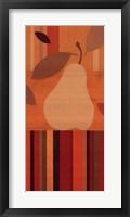 Merry Pear II Framed Print