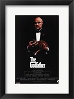 Framed Godfather Movie Poster