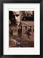 Framed Godfather Sepia