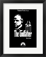 Framed Godfather Poster