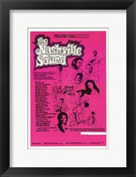 Framed Nashville Sound