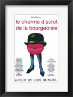 Framed Discreet Charm of the Bourgeoisie French
