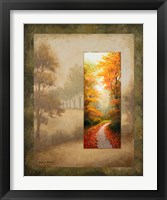 Glimpse II Framed Print