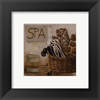 Framed Jungle Spa I