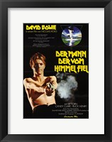 Framed Man Who Fell to Earth David Bowie