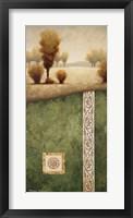 Transitional Landscape III Framed Print