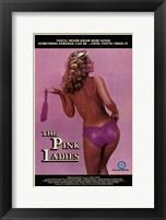 Framed Pink Ladies
