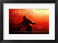 Framed Shawshank Redemption Freedom Wide