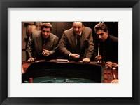 Framed Sopranos - three men