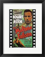 Framed Maltese Falcon Film Reel