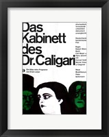 Framed Cabinet of Dr. Caligari