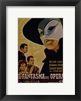 Framed Phantom of the Opera (Italian)