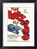 Framed Wizard of Oz Text