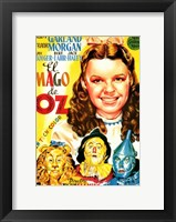 Framed Wizard of Oz Cartoon