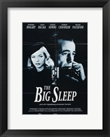 Framed Big Sleep Black and White