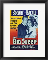 Framed Big Sleep Bogart and Bacall
