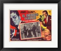 Framed Public Enemy In Spanish