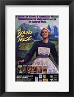 Framed Sound of Music Musical