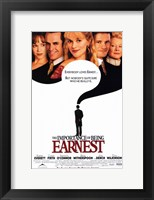Framed Importance of Being Earnest