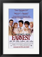 Framed Importance of Being Earnest Rupert Everett