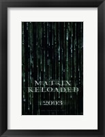 Framed Matrix Reloaded Logo
