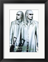 Framed Matrix Reloaded the Twins