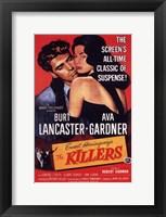 Framed Killers Burt Lancaster & Ava Gardner