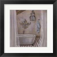 Framed Crystal Bath I