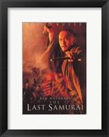 Framed Last Samurai Ken Watanabe