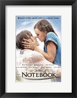 Framed Notebook Behind Every Great Love