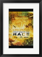 Framed Amazing Race TV Series
