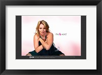 The L Word Tina Kennard Framed Print