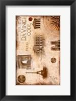 Framed Da Vinci Code Famous Places