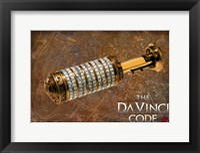 Framed Da Vinci Code Codex