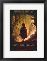 Framed Brothers Grimm - This isn't the way