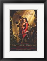 Framed Brothers Grimm - if you go down