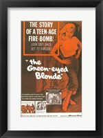 Framed Green-Eyed Blonde