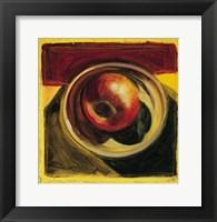 Framed Fruit Still Life III