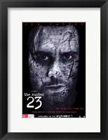 Framed Number 23