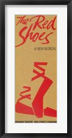 Framed (Broadway) Red Shoes