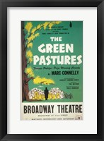 Framed (Broadway) Green Pastures