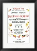 Framed Sound of Music (Broadway)