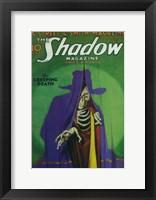Framed (Pulp) Shadow Magazine Creeping Death