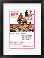Framed he Good, The Bad, and the Ugly Civil War
