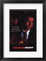 Framed Thunderheart Val Kilmer