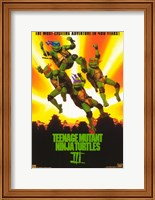 Framed Teenage Mutant Ninja Turtles 3