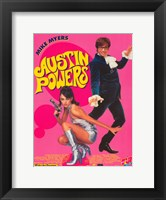Framed Austin Powers: International Man of Mystery - Myers