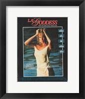 Framed LA Goddess