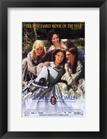 Framed Little Women - best family movie of the year
